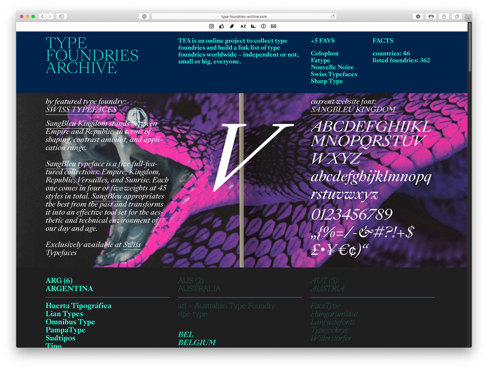 Type Foundry Archive